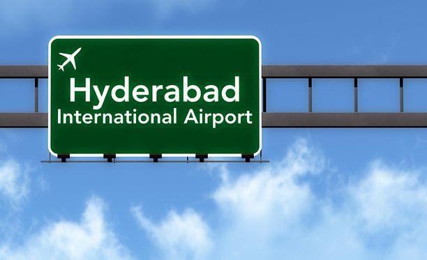 Hyderabad on Intian neljänneksi suurin kaupunki.