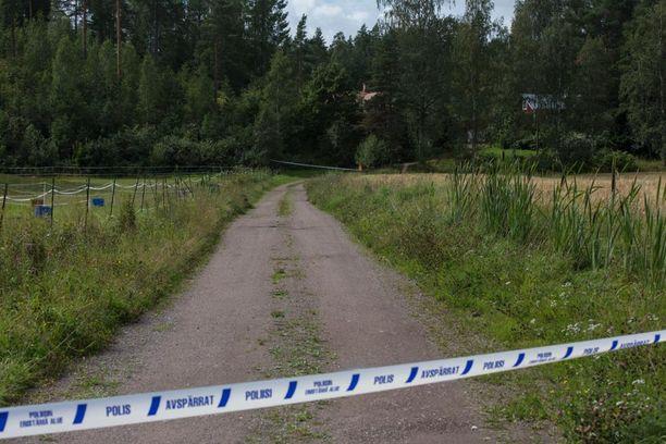 Tuttava löysinaisen kuolleena perjantaina 5.8.2016 Loviisassa.