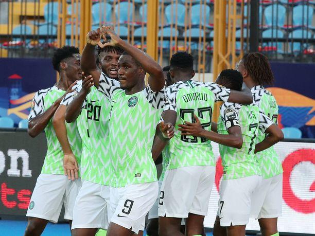 Nigeria juhli taas pronssia Afrikan mestaruuskisoissa.