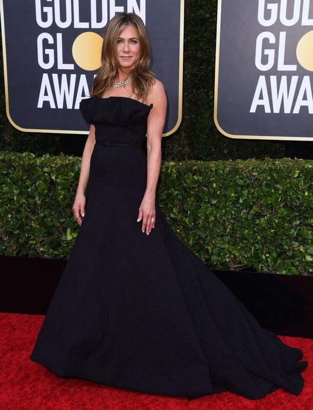 Jennife Aniston esiintyi upeana galaan punaisella matolla.