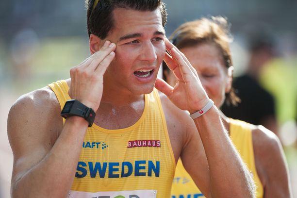 Perseus Karlströmin kanuunasuoritusta ei näytetty Ruotsin tv:ssä.