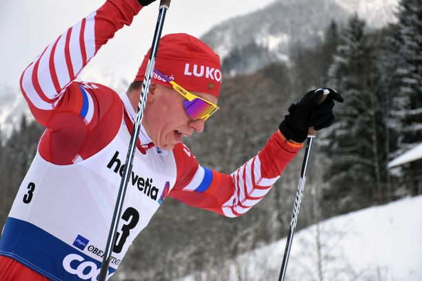 Aleksander Bolshunov on kolmantena Tour de Skillä.