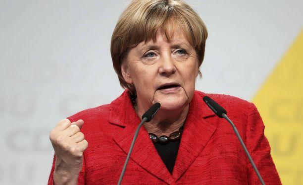 Angela Merkelin CDU-puolueen odotetaan voittavan sunnuntain vaalit.