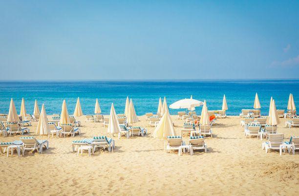Vaikka Alanya on tunnettu erityisesti rantakohteena, voi myös Antalyassa nautiskella rantatunnelmasta.