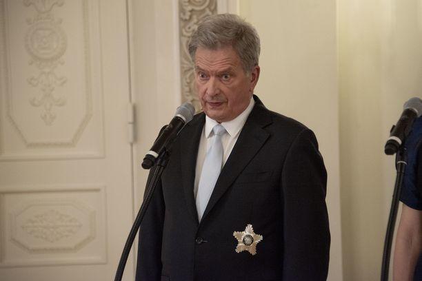 Presidentti Niinistö esitti huolensa Venäjän tilanteesta.