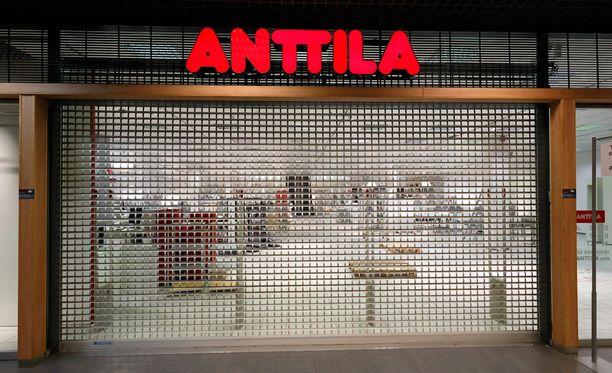 Anttila hakeutui konkurssiin heinäkuussa 2016.