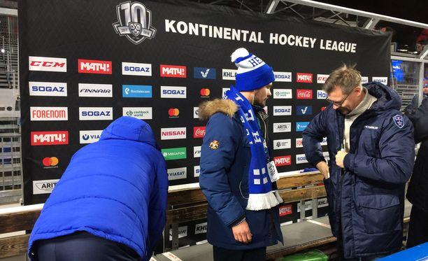 SKA:n takki sopi Jaloselle. Hän luotsasi pietarilaisseuraa 2012-2014.