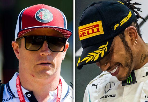Kimi Räikkönen pitää hallussaan F1-sarjan ikänestorin viittaa. Lewis Hamilton toivoo suomalaisen jatkavan.