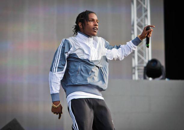 30-vuotias Asap Rocky on syntynyt New Yorkin Harlemissa.