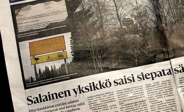 Helsingin Sanomien lauantaina julkaiseman jutun lähteenä oli käytetty salaisiksi määriteltyjä asiakirjoja.