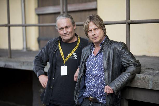 Edu Kettunen ja Kim Lönnholm palaavat keikkalavalle hyvillä mielin.