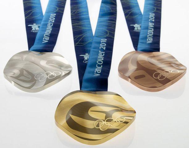 Vacouverin olympialaisten mitallit.