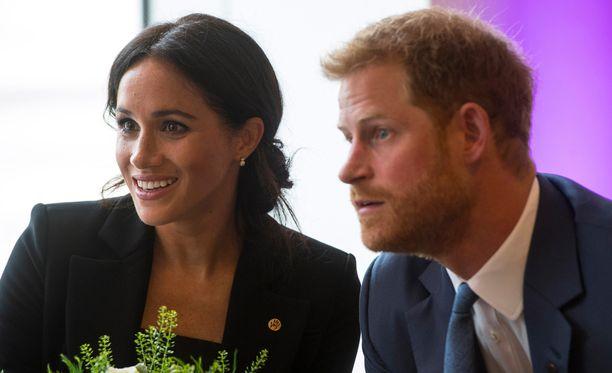 Herttuatar Meghan ja prinssi Harry kertoivat elokuvamieltymyksistään.