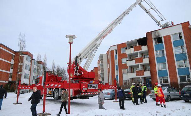 Tammikuussa 2015 Kotkassa tapahtunut raju palo tuhosi asunnon ja aiheutti savuvahinkoja viiteen muuhun.