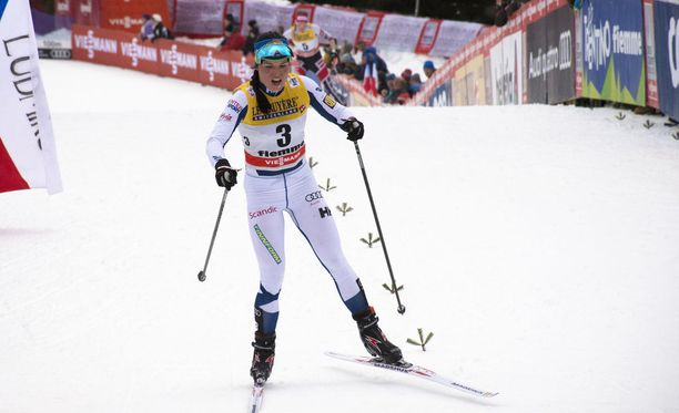 Krista Pärmäkoski sijoittui neljänneksi Tour de Skillä.