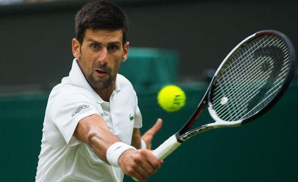Novak Djokovicia ei nähdä enää tänä vuonna tenniskentillä.