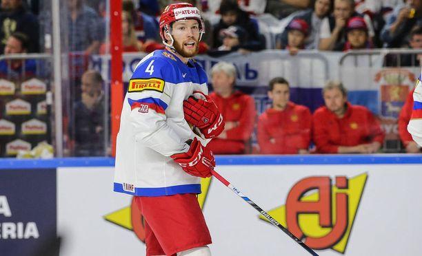Vladislav Gavrikov edusti Venäjää kevään MM-kilpailuissa.