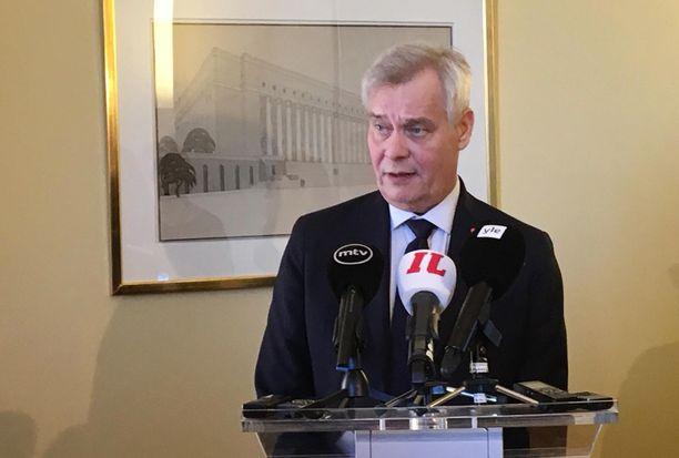 Antti Rinne pyrkii muodostamaan Suomeen seuraavaa hallitusta.