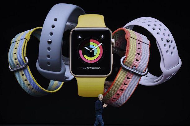 Apple julkaisi myös kolmannen sukupolven Apple Watchin.
