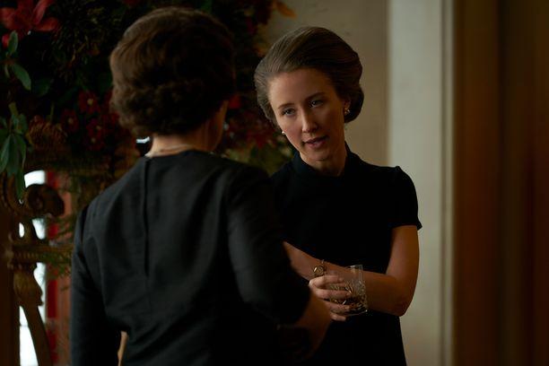 Erin Doherty näyttelee The Crownissa prinsessa Annea.