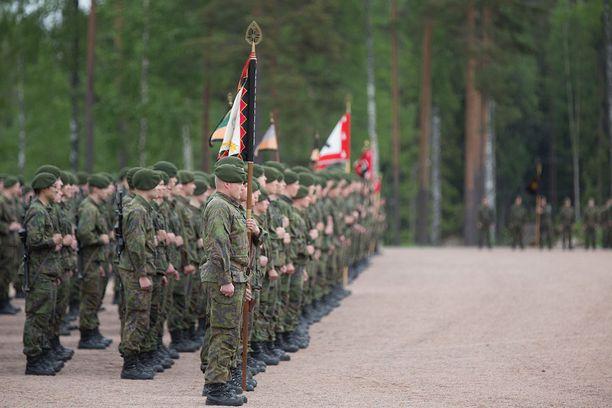 Karjalan prikaatista kotiutui yli 1 500 varusmiestä.