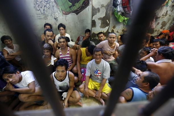 Olot monissa Filippiinien vankiloissa ovat epäinhimilliset.