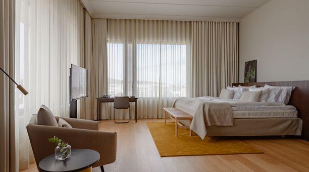 Hotelli Vaakunan huoneita vuokrataan pitkäaikaistarpeeseen sekä etätyötoimistoiksi.