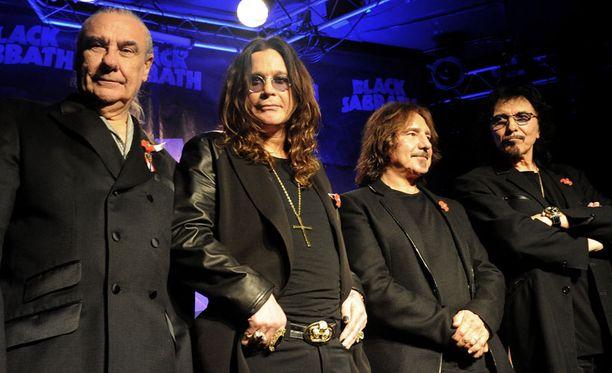 Black Sabbathin alkuperäisen kokoonpanon on määrä konsertoida Helsingissä 23. toukokuuta.