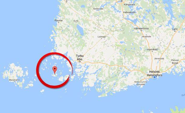 Houtskarin surma tapahtui viime vuoden joulukuussa Saverkeitin saarella Paraisilla.
