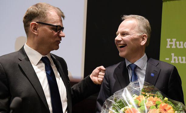 Jari Leppä valittiin keskustan uudeksi ministeriksi torstaina.