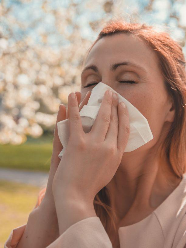 Kevät ei ole vain ihanaa aikaa, jos riesana on siitepölyallergia.