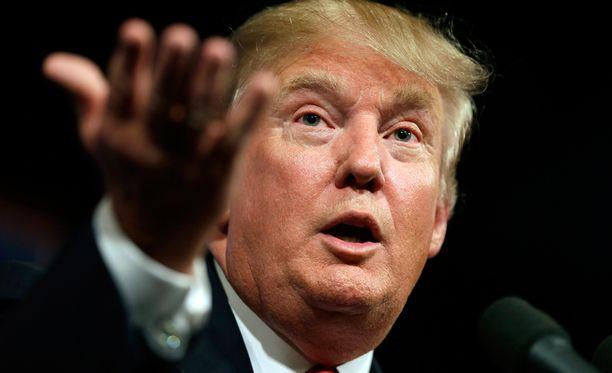 Donald Trump haluaa Yhdysvaltain presidentiksi.