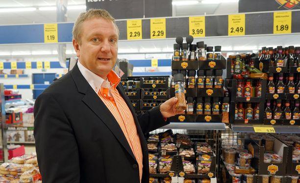 Suomen Lidlin toimitusjohtaja Lauri Sipponen.