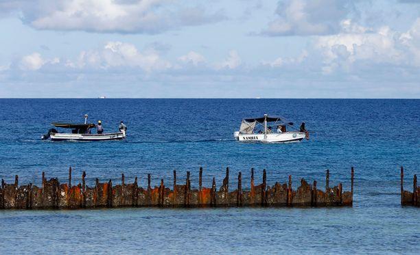 Spratlysaaret koostuvat yhteensä 30 000 saaresta, luodosta ja karista.