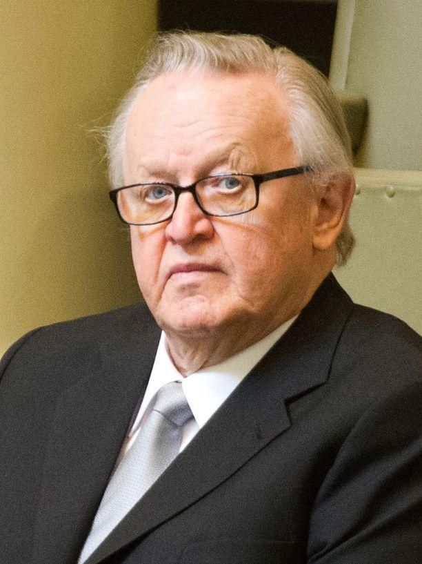 Ahtisaari sai vuonna 2008 Nobelin rauhanpalkinnon.