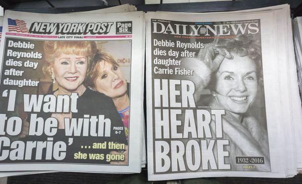 Carrie Fisher sai sydänpysähdyksen mannerten välisellä lennolla.