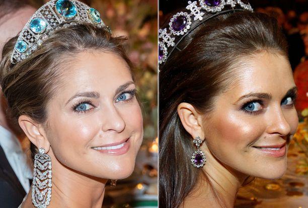 Prinsessa Madeleinen hiustenväri on muuttunut. Vaaleampi sävy ja erilainen meikki tekevät Maddesta lähes tunnistamattoman.