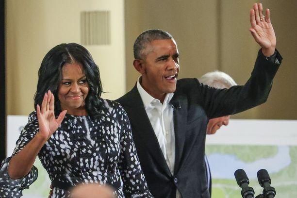 Michelle Obama esiintyi paljon miehensä rinnalla, mutta Barack Obaman viimeisiä presidenttivuosina hän oli näkyvämmin esillä.