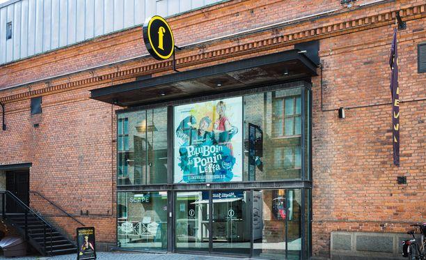 Poliisin tutkima näpistystapaus sattui elokuvateatteri Plevnassa Tampereella.