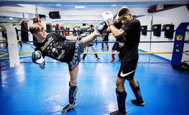 Lancelot Hedman Graaf tähtää perin korkealle - lajinsa maailmanmestariksi ja UFC-kehiin.