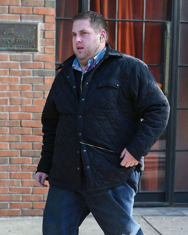 Muutama viikko sitten Jonah oli palannut entisiin kiloihinsa.