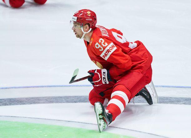 Jevgeni Kuznetsov kuului Venäjän pronssia voittaneeseen joukkueeseen Slovakian MM-kilpailuissa.