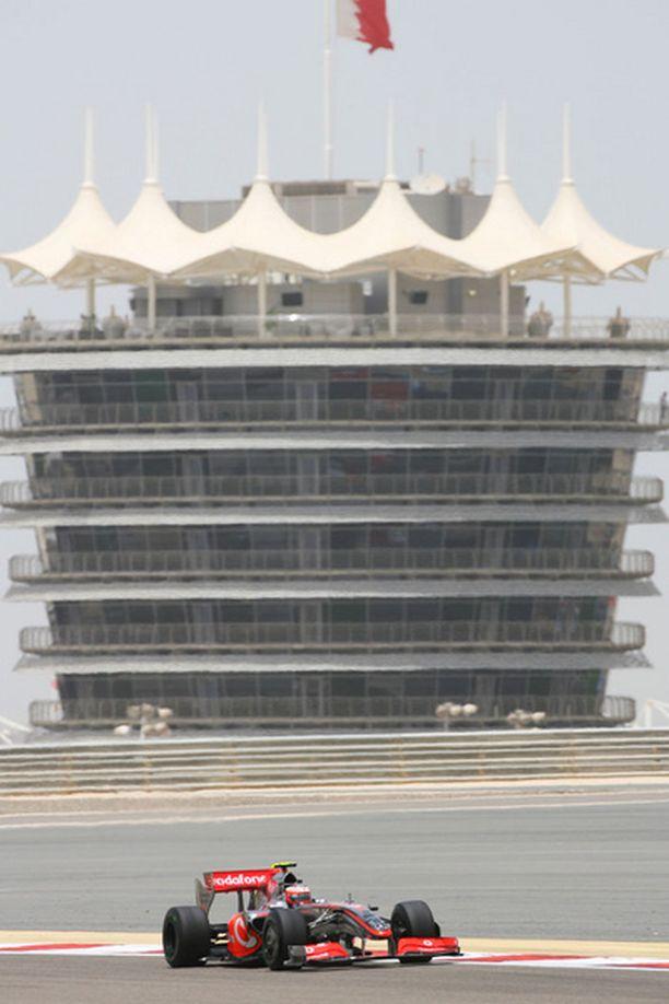 Heikki Kovalaisen McLaren toimi Bahrainin aika-ajoissa ongelmitta - tulosta ei vaan syntynyt.