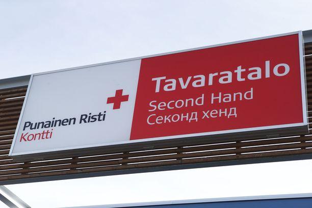 Käsikranaatti löytyi SPR:n Kontti-myymälästä Oulussa. Kuvituskuva.