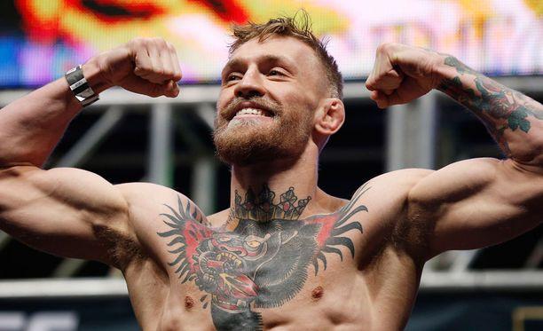 Conor McGregorin harjoittelu herättää huomiota.