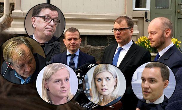 Hallituksen sote-uudistuksella on enää hyvin niukka enemmistö. Paavo Väyrynen, Harry Harkimo, Elina Lepomäki ja Susanna Koski ovat jo ilmoittaneet äänestävänsä uudistusta vastaan. Wille Rydman (kok) pohtii ratkaisuaan.
