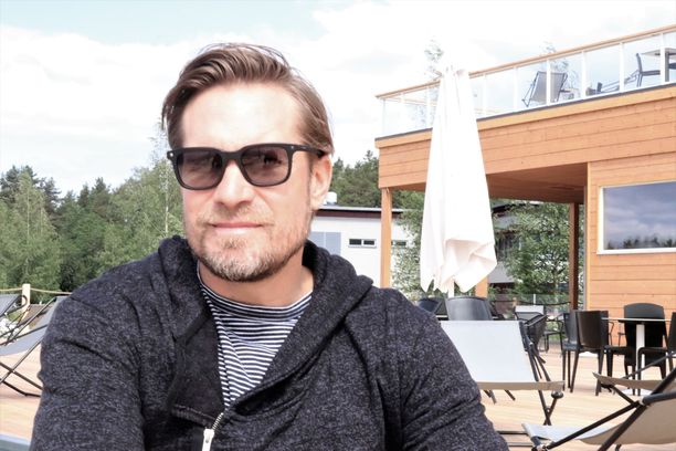 Kimmo Timonen kuvattuna viime kesänä Kuopiossa.