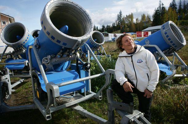 Uotila toimii Vihti Ski Centerin toimitusjohtajana. Arkistokuva.
