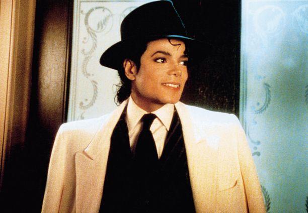 Michael Jackson ikuistettuna uransa huippuaikoina vuonna 1988 Moonwalker-elokuvan kuvauksissa.