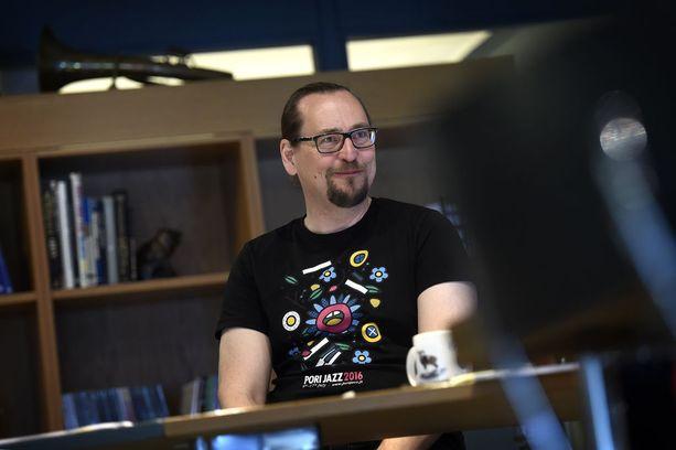 Janne Nieminen toteaa Pori Jazzin olevan syrjimätön ja täydellistä tasa-arvoa kannattava festivaali.